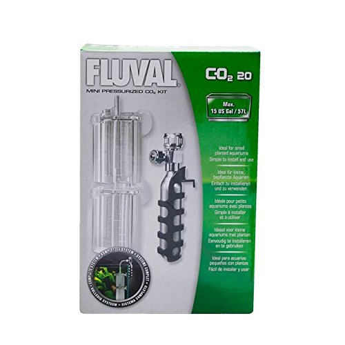 Fluval Mini Pressurized 20g-CO2 Kit - 0.7 ounces (Aquarium Small Co2)