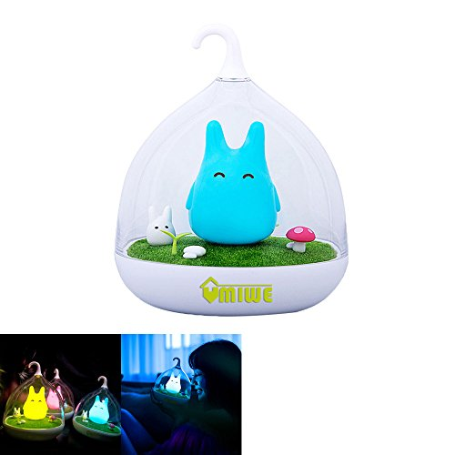 niceEshop(TM) Portable Creative Touch Sensor USB LED Baby Night Light Lamp(Blue)