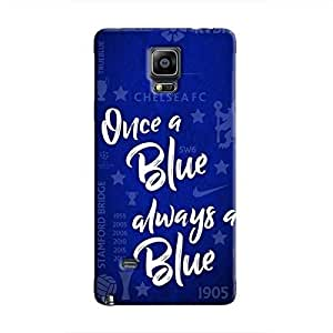 Cover It Up - Chelsea- Once a Blue Galaxy Note 4 Hard Case