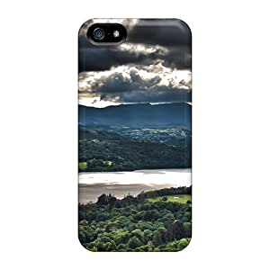 New RoccoAnderson Super Strong The Lake In The District Cases Covers For Iphone 5/5s
