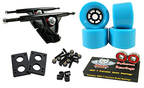 longboard trucks and wheels set - 3