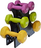 #1: AmazonBasics Neoprene Dumbbells