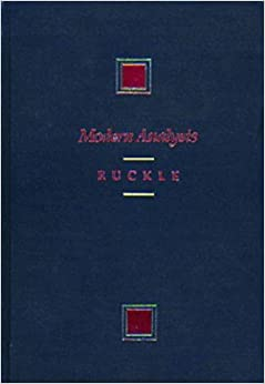 Modern Analysis (Prindle, Weber, and Schmidt Series in Advanced Mathematics)