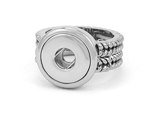 Ginger Snaps PETITE Berkshire Stretch Ring GP90-60 Interchangeable Jewelry -