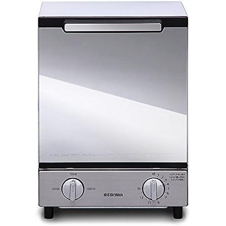 IRIS OHYAMA Mirror Oven Toaster Vertical Type MOT 012