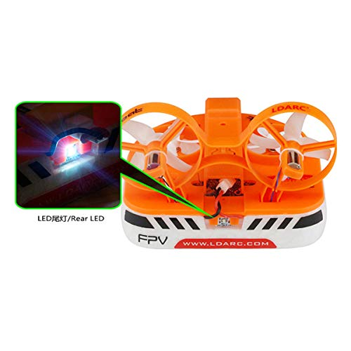 LDARC-Tiny-Q-Frame-Kit-for-Tiny-Whoover-Air-Boat-Frame-Kit-with-40mm-31mm-Props-LED-Indicator-Base-on-Tiny-Whoop-Blade-Inductrix-Quadcopter