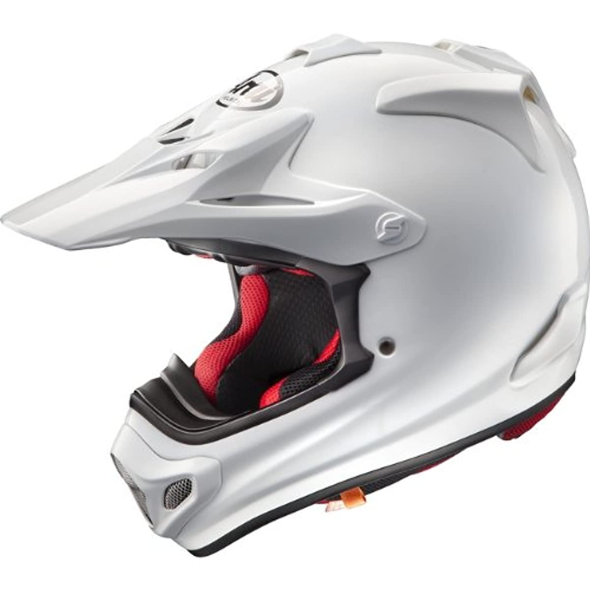 [해외] 아라이 오토바이 헬멧 오프로드 V-CROSS4 화이트 L 머리위 59CM~60CM