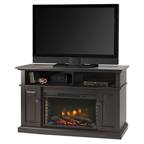 "GHP Muskoka Delaney 48"" Media Fireplace-Rustic Brown"