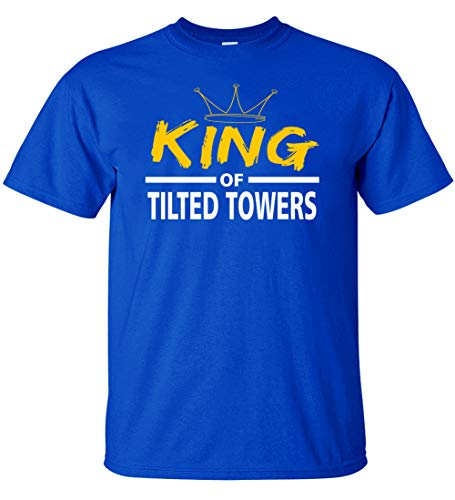 Kids King if The Tilted Towers Youth T-Shirt (Royal, Adult S)