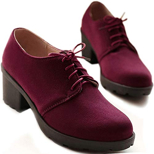 Pumps Zanpa High 1 Top Heels rojo Mujer Clásico Mid wIvIPB