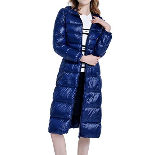 Knee Length Down Coat - 3