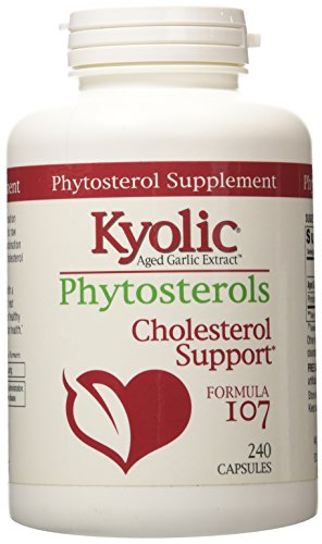 Kyolic Garlic Formula 107 With Phytosterols 240 Capsules