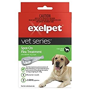 EXELPET Spot-On Large Dog Flea Treatment, 2 x 2.68ml Click on image for further info.