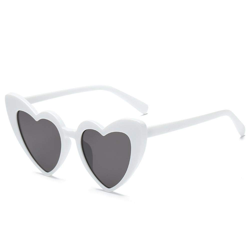 Heart Shaped Sunglasses Women Cat Eye Women Sun Glasses Luxury Brand Retro Love