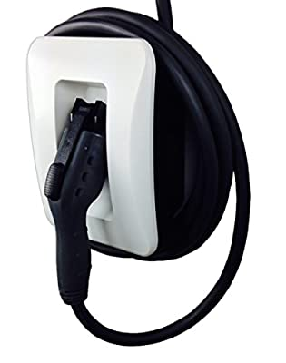 EVoCharge J1772 Holster for EV Charger, Wall Mount (Cable and Connector Not Included)