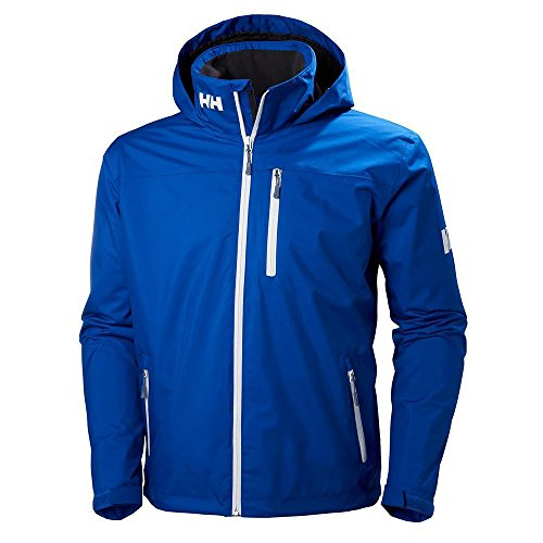 Helly Hansen Men's Jacket Crew Hooded Midlayer Olympian Blue