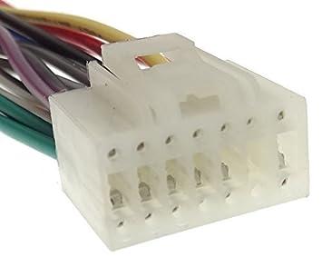 /20/Pin Kabel Adapter Stecker ISO f/ür Autoradio Nakamichi/