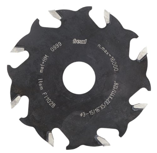 Freud FI102 Replacement 4-Inch 8 Tooth Blade For Freud And Other Biscuit Joiners ()