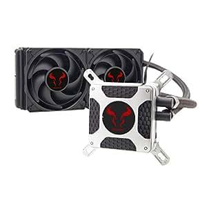 Liquid CPU Cooler, RIOTORO® New Generation BiFrost AMD / Intel Platforms Water Cooling Fan with 240mm Radiator [TR-240]