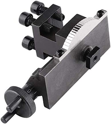 Herramienta de torno Accesorios for portaherramientas de mini torno 30 grados giratorio N//S 10154 for mini torno