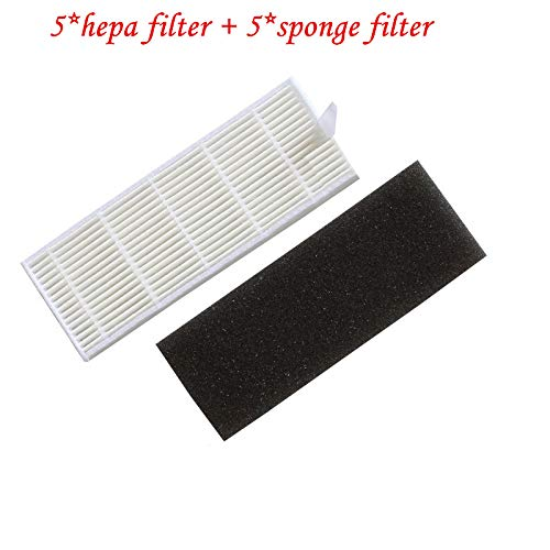 Amazon.com: HBK hepa Filter for ilife a4 a4s Parts Robot Vacuum Cleaner ilife a4s a6 a40 T4 X620 X623 X430 X431 Parts Robot aspiradora Filter: Home & ...