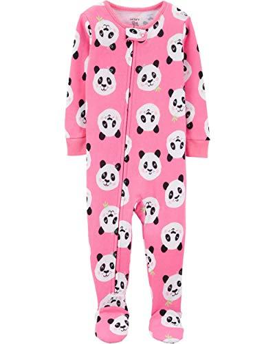(Carter's Baby Girls' 1-Piece Snug Fit Cotton Pajamas (18 Months,)