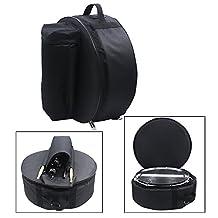 Andoer Durable 14 Inch Snare Drum Bag Backpack Case with Shoulder Strap Outside Pockets