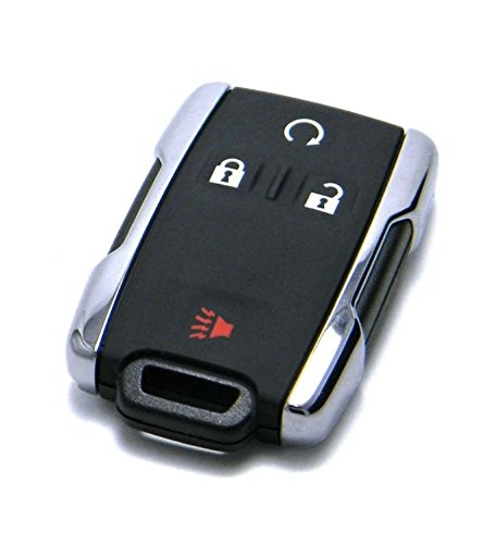 4 Button Chevrolet Silverado Colorado Keyless Entry Remote 13577770 W/ Duracell Battery (Chevrolet Remote)
