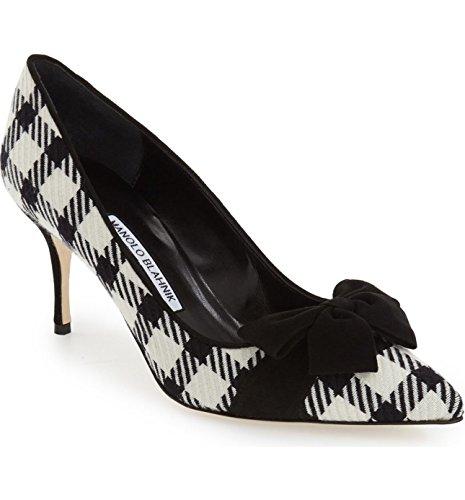 manolo-blahnik-gorina-houndstooth-bow-pointy-pump-heel-shoes-black-white-37