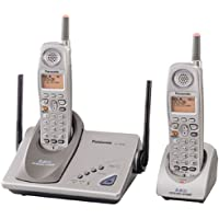 Panasonic KX-TG5202M GigaRange Supreme 5.8 GHz DSS Expandable Cordless Phone with Dual Handsets