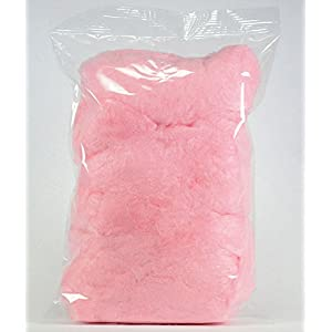 Lisa Snacks Pre-Packaged Cotton Candy Carnival Bag (Light Red Cherry)