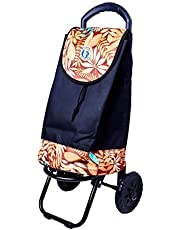 Dolphin Collection Market Trolley, 34 L, Multicolor