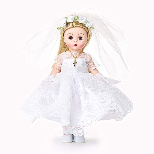 "Madame Alexander 8"" First Communion Blessings Light Skin Tone Blue Eyes/Blonde Hair, Multicolor"