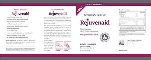 Rejuvenaid – Energy Stamina Cardiovascular & More – 30 Stick Packs