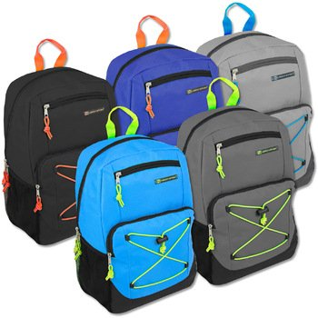 Wholesale Urban Sport 18 Inch Deluxe Bungee Backpack Case Pack 24 by Urban Sport