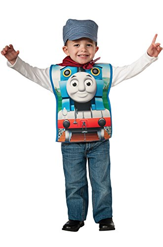 Halloween Costumes For 4 Friends (Rubies Thomas and Friends, Thomas The Tank Engine Costume, Child Small)