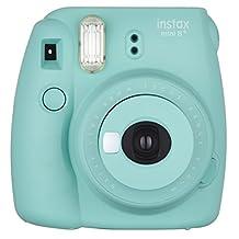 Fujifilm Instax Mini 8+ (Mint) Instant Film Camera + Self Shot Mirror for Selfie Use - International Version (No Warranty)