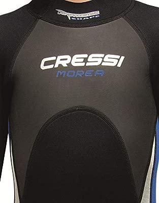 Cressi Morea Jr Monopiece Wetsuit 3mm Traje de Buceo Neopreno, Unisex-Youth