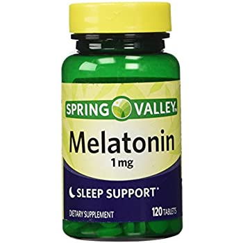 Spring Valley - Melatonin 1 mg, 120 Tablets