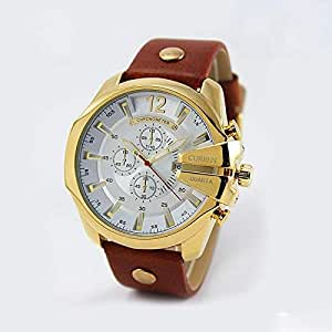 Curren Dress Watch For Men Analog Leather - M:8176