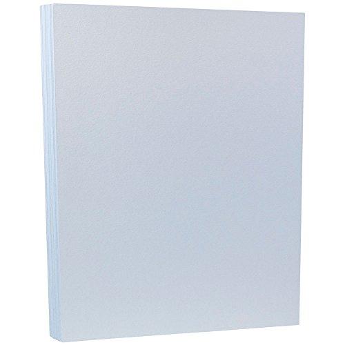 Blue 50 Sheet Pack - JAM Paper Premium Cardstock - 8 1/2