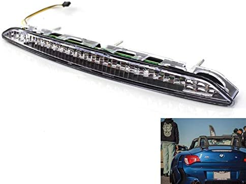 Nrpfell Fit for E85 Z4 2002-2008 Third Brake Stop Light Clear Color Lamp 63256930246