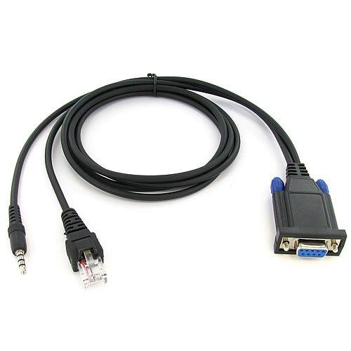 Valley Enterprises® Yaesu Combination Mobile 8-pin CT-104 and Portable Radio Programming Cable