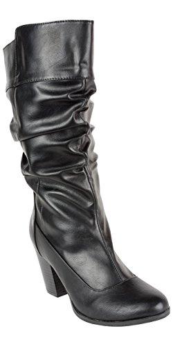 Andres Machado Damen Stiefel schwarz Größe 35