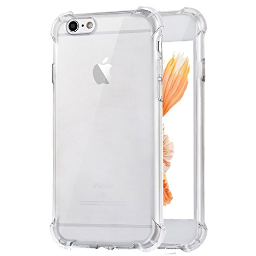 iPhone 6 Plus Case, iPhone 6s Plus Case,Ibarbe 3Pack Clear TPU Heavy Duty High Impact Resistant Hybrid Protective Cover Case For iPhone 6 Plus and iPhone 6s Plus