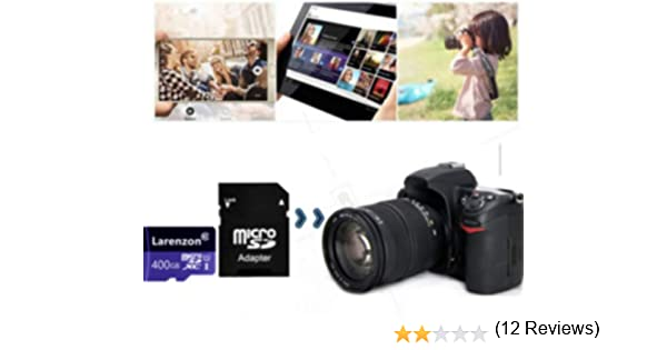 Larenzon Micro SD Tarjeta 400 GB, microSDXC 400 GB Class 10 Tarjeta de Memoria + Adaptador SD (L50-HL) (400GB)