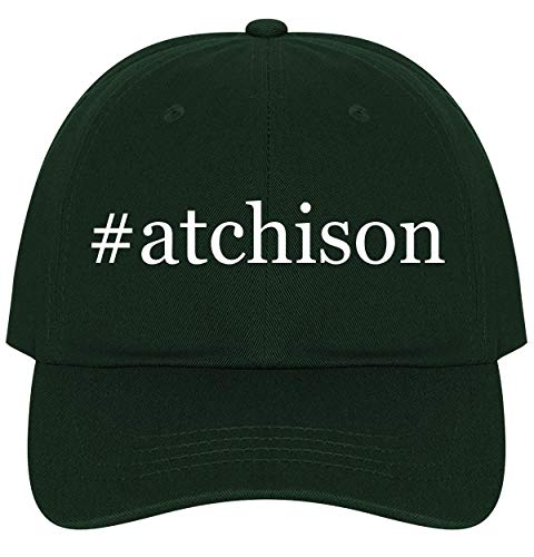The Town Butler #Atchison - A Nice Comfortable Adjustable Hashtag Dad Hat Cap, Forest ()
