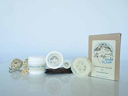 Body & Sole Foot Care Kit for Healthy Feet by RM Lifestyle is Guaranteed for Your Satisfaction using the Highest Quality of Natural Ingredients for Skin Care for Men and Women. This Pedicure Product will Leave Your Feet Looking and Feeling Baby Soft and P
