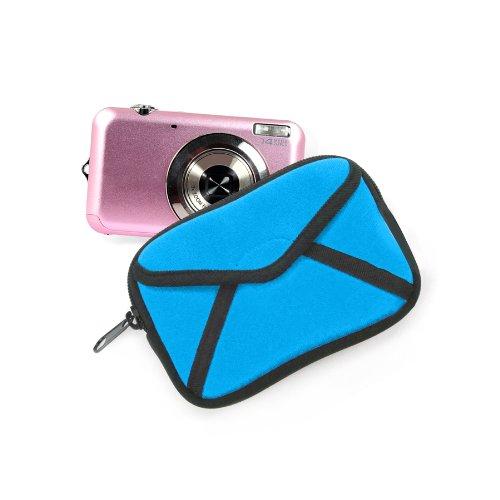 Kikkerland Mailbox Camera Case, Blue (OR11-BL)