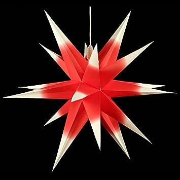Weihnachtsstern Annaberger Faltstern Rot 60cm Erzgebirge